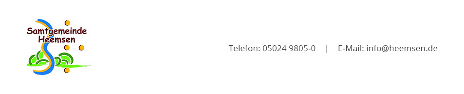 Header-Grafik Samtgemeinde Heemsen